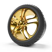 Golden rim