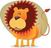 Cute Cartoon Lion King