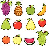 Clip Art Food - Royalty Free - GoGraph