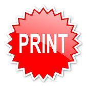 print red tag, sticker, label, star, stamp, banner, advertising, badge, emblem, web icon
