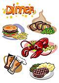 Dinner Menu Pictures