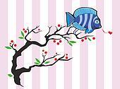 Twitting Fish in Love