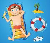 Water fun - boy