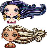 girls with cool hair styles