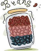 Bean Clip Art - Royalty Free - GoGraph