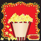 Popcorn and a Movie Birthday Party