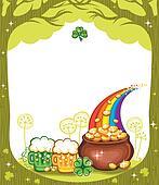 St. Patricks Day frame