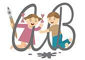 Children_and_alphabet