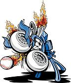 Monster Baseball Pitching Machine