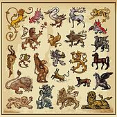 heraldic beast collection