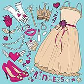 Princess fashion set