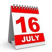 Calendar. 16 July.