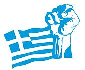 greek uprising vector
