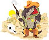 Wild West Armadillo