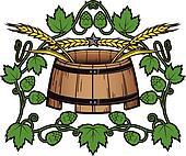 Hops 'n Wheat Barrel