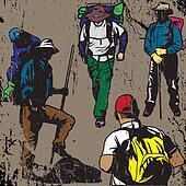 Grunge Backpackers