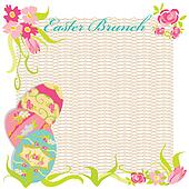 Easter Brunch Invitation Party