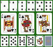 3 card poker felt layout with 6 cardinal fields