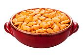 Goldfish Crackers isolated