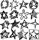 Star doodles