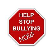 Help stop bullying now sign