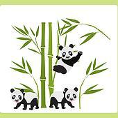 Bamboo and Panda