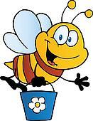 Bee Flying Bucket