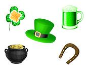 St. Patrick day symbols