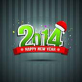 Happy New Year 2014 message text