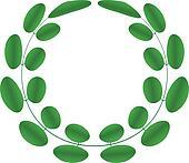 Acacia wreath