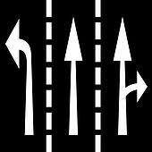 vector road arrows
