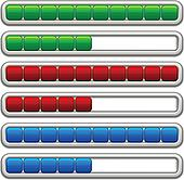 vector progress bars