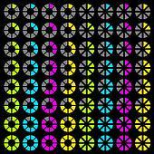 vector progress symbols