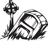 Grave - Halloween Set - vector illustration