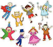 Costume Clip Art - Royalty Free - GoGraph