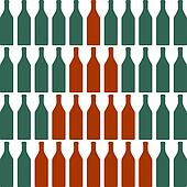 Bottles silhouette