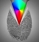 Rainbow Fingerprint