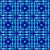 oriental style seamless pattern vector four