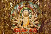 Longevity Bodhisattva Samantabhadra Goddess Statue