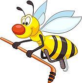 Cartoon Character Bee