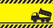 Background truck for transportation