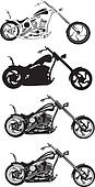 motorcycle - chopper