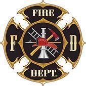 Fire Department Maltese Cross Vinta