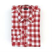 Shirt set on a white background