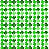 four leaf clover pattern background