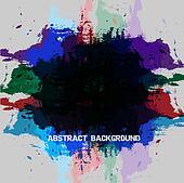 Grunge paint abstract backgroun