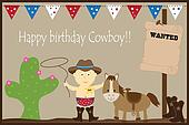 Happy Birthday Cowboy