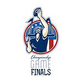 American Football Championship Game Finals