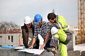 Construction supervisors problem solving