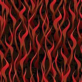 hell fire background seamless